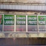 Oklejanie witryn Kraków - gabinet dentystyczny