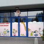 Oklejanie witryn Kraków - przedszkole