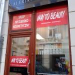Oklejanie witryn fryzjer w Krakowie