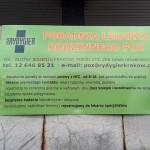Tablice reklamowe Krakow przychodnia poradnia