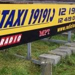 Tablice reklamowe Krakow radio taxi
