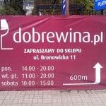 Banery Kraków sklep monopolowy
