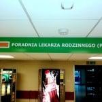 Druk wielkoformatowy Kraków - szyld lekarz