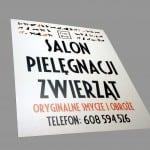 Druk wielkoformatowy Kraków - tablica