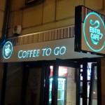 Kaseton świetlny Kraków caffe to go