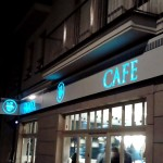 Kaseton świetlny Kraków caffe