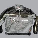 Nadruki na odzieży kurtka robocza