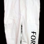 Nadruk na odzieży - spodnie robocze