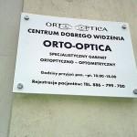 Szyldy Kraków salon optyczny